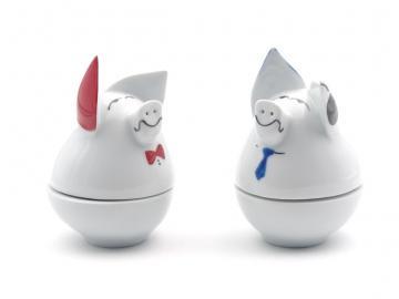 Eierbecher Schweinchen