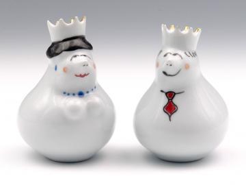 Salzstreuer König und Königin